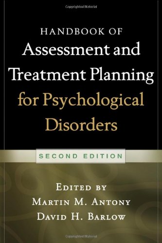 Handbook of Assessment and Treatment Planning for Psychological Disorders, 2/e  2nd 2010 (Revised) edition cover