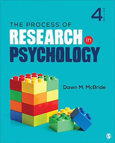 Process of Research in Psychology  4th 2020 9781544323497 Front Cover