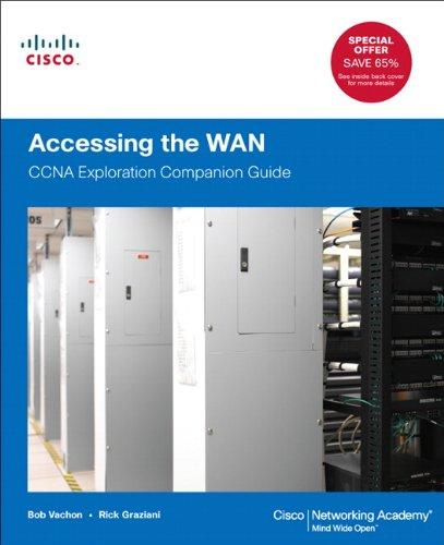 Accessing the WAN CCNA Exploration Companion Guide  2012 edition cover