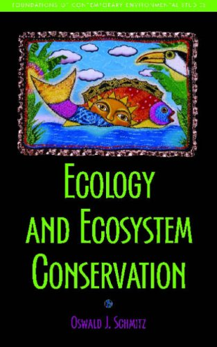 Ecology and Ecosystem Conservation   2007 edition cover
