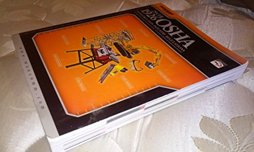 29 CFR 1926 OSHA CONSTRUCTION N/A edition cover