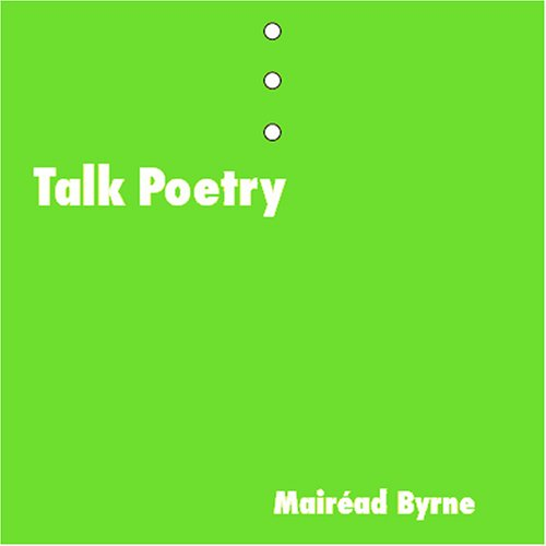 Talk Poetry   2007 edition cover