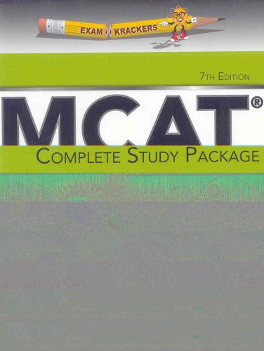 Examkrackers MCAT Complete Study Package 7th 2007 edition cover