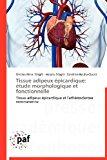 Tissue Adipeux �picardique �tude Morphologique et Fonctionnelle N/A 9783838170497 Front Cover