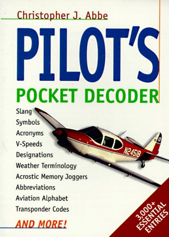 Pilot's Pocket Decoder   1998 edition cover