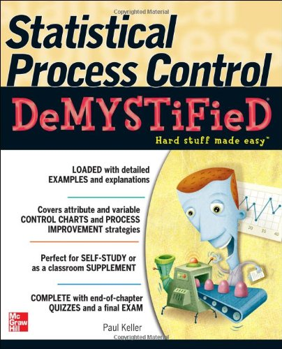 Statistical Process Control Demystified   2011 9780071742498 Front Cover