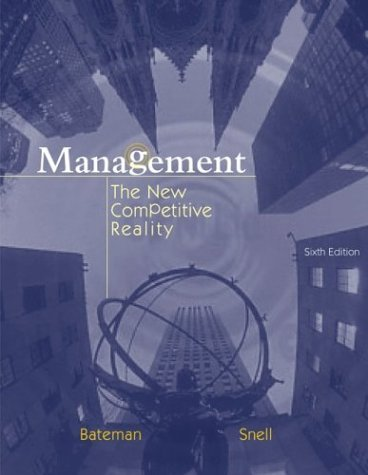 Management The New Competitive Landscape with PowerWeb 6th 2004 (Revised) edition cover
