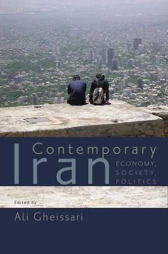 Contemporary Iran Economy, Society, Politics  2009 edition cover