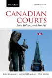 Canadian Courts Law, Politics, and Process 2nd 2014 edition cover