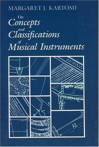 On Concepts and Classifications of Musical Instruments   1990 edition cover