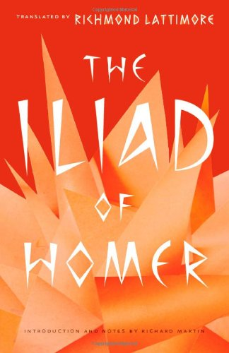 Iliad of Homer   2011 edition cover
