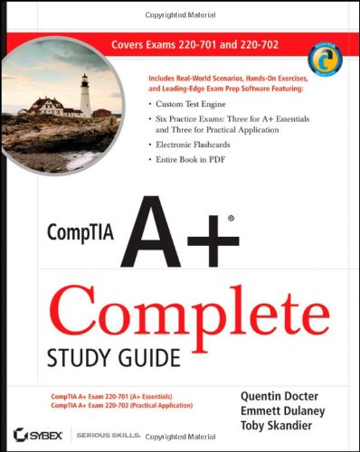 Comptia A+ Exams 220-701 and 220-702 2nd 2009 (Guide (Pupil's)) edition cover