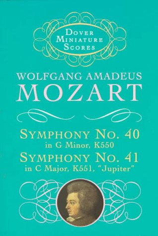Symphonies Nos. 40 and 41  Unabridged edition cover