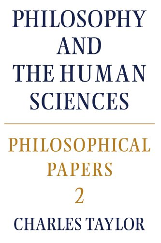 Philosophical Papers Philosophy and the Human Sciences  1985 edition cover