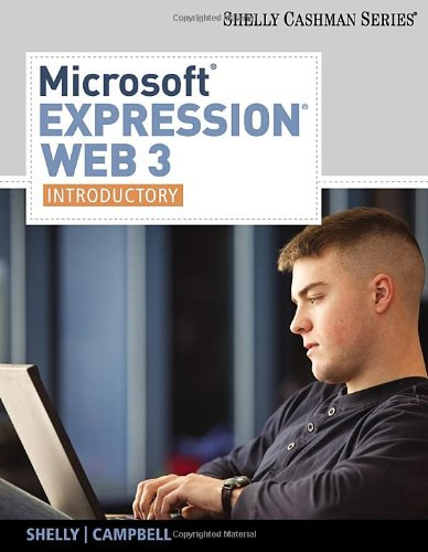 Microsoft� Expression Web 3 : Introductory   2011 9780538474498 Front Cover