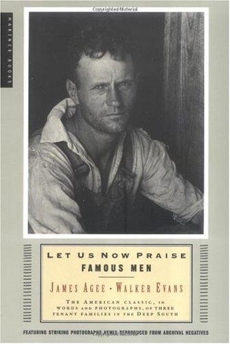 Let Us Now Praise Famous Men  60th 2001 edition cover