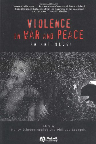 Violence in War and Peace An Anthology  2003 edition cover