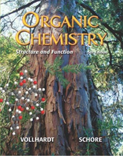Organic Chemistry Structure and Function 5th 2007 edition cover