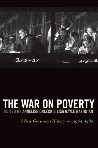 War on Poverty A New Grassroots History, 1964-1980  2011 edition cover