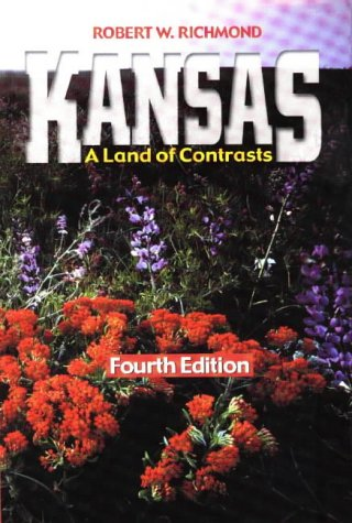 Kansas A Land of Contrasts 4th 1999 edition cover