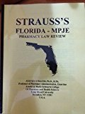 Strauss's Pharmacy Law Examination Review - New Jersey 4th 9780962532498 Front Cover