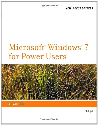 New Perspectives on Microsoft� Windows 7 for Power Users   2012 edition cover