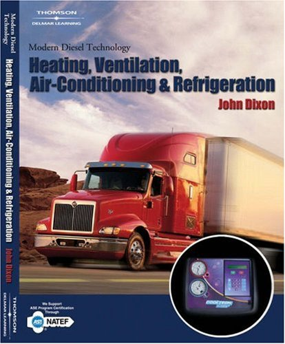 Modern Diesel Technology Heating, Ventilation, Air Conditioning and Refrigeration  2007 edition cover