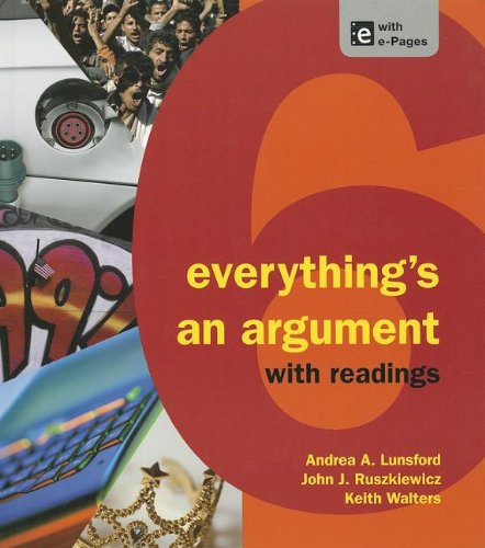 EVERYTHING'S AN ARGUMENT-W/RDG N/A edition cover