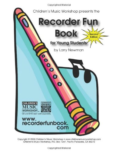 Recorder Fun Book For Young Students N/A edition cover