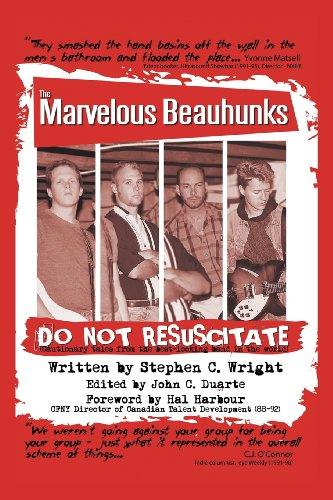 Do Not Resuscitate - The Marvelous Beauhunks   2013 9781491709498 Front Cover