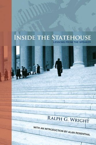 Inside the Statehouse Lessons from the Speaker  2005 (Revised) edition cover