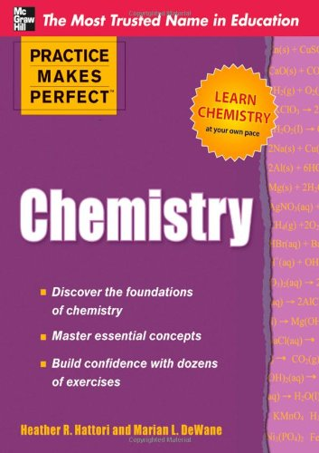 Practice Makes Perfect Chemistry   2011 edition cover