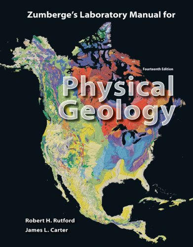 Laboratory Manual for Physical Geology  14th 2009 edition cover