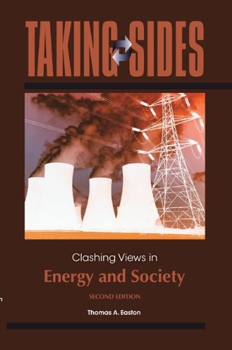 Taking Sides - Clashing Views in Energy and Society  2nd 2012 edition cover