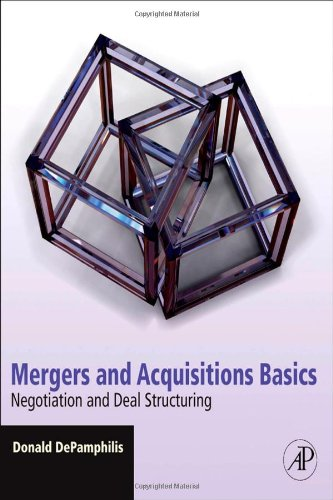 Mergers and Acquisition Basics Negotiation and Deal Structuring  2010 edition cover