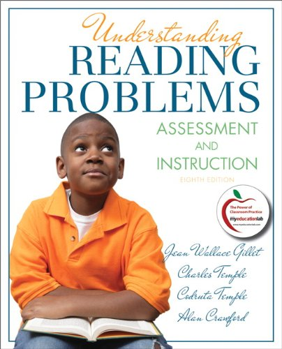 Understanding Reading Problems Assessment and Instruction 8th 2012 (Revised) edition cover