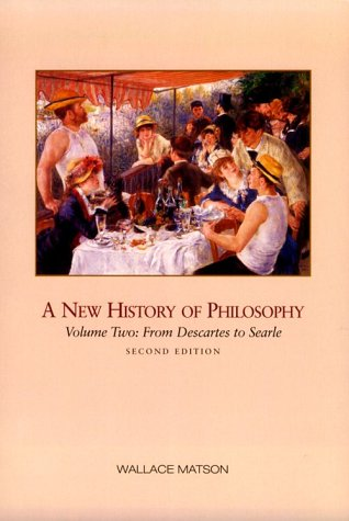 New History of Philosophy From Descartes to Rawls 2nd 2000 (Revised) 9780155078499 Front Cover