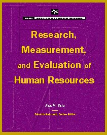 Research, Measurement and Evaluation of Human Resources  N/A edition cover
