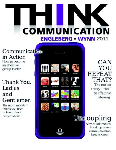 Think Communication   2011 edition cover