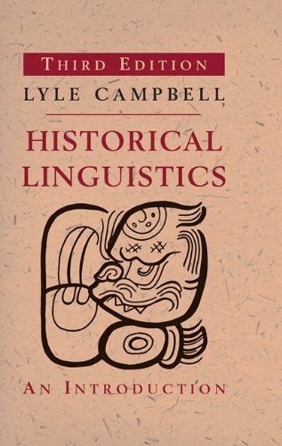 Historical Linguistics An Introduction 3rd 2013 edition cover