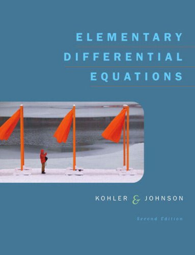 Elementary Differential Equations Bound with IDE CD Package  2nd 2006 (Revised) 9780321398499 Front Cover