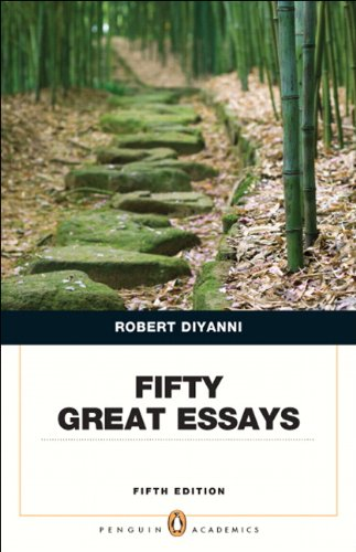 Fifty Great Essays  5th 2013 edition cover