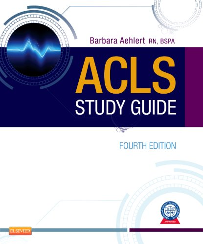 ACLS Study Guide  4th 2012 edition cover