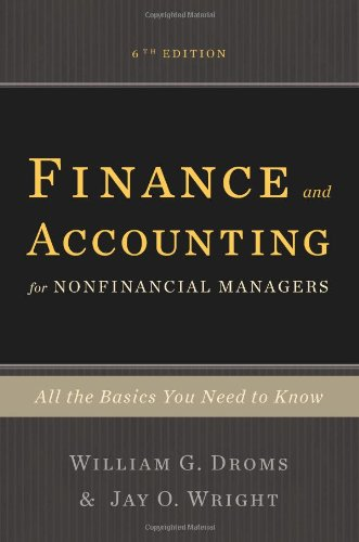 Finance and Accounting for Nonfinancial Managers All the Basics You Need to Know 6th 2010 edition cover