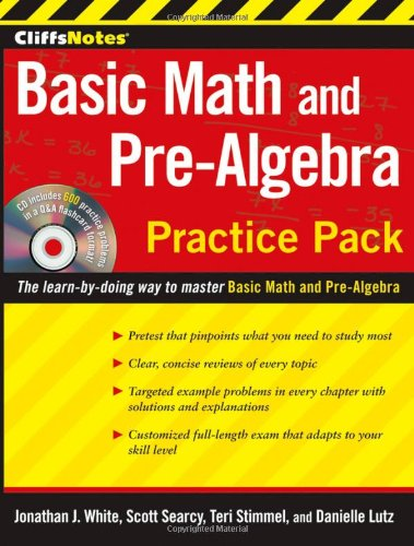 Basic Math and Pre-Algebra  2nd 2010 edition cover