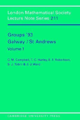 Groups '93 Galway - St. Andrews   1995 9780521477499 Front Cover