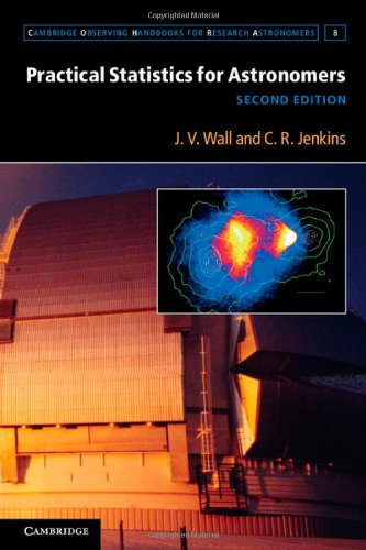 Practical Statistics for Astronomers  2nd 2012 (Revised) edition cover