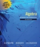 Introductory Algebra An Applied Approach 7th 2009 9780547118499 Front Cover