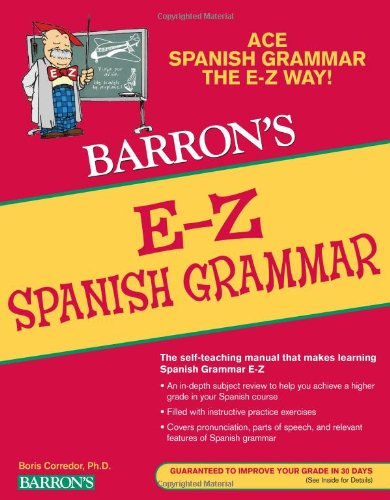 E-Z Spanish Grammar  2nd 2010 (Revised) edition cover