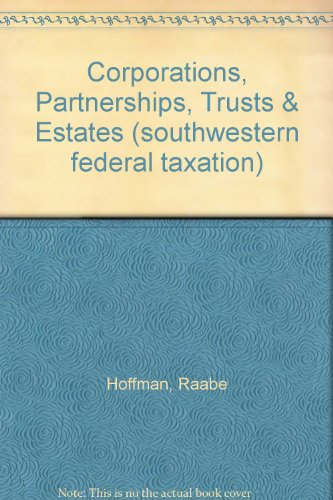 SOUTH-WEST.FED.TAX.:CORP.,..20 N/A 9781133495499 Front Cover